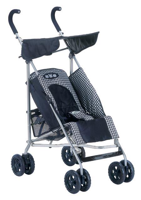 Прогулочная коляска с регулируемой спинкой и подножкой, тентом от солнца.  Задние колеса с тормозами...